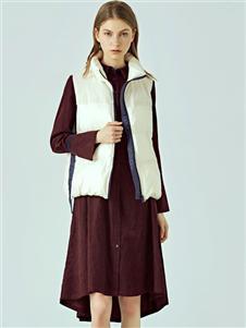 丽迪莎女装新款无袖羽绒服