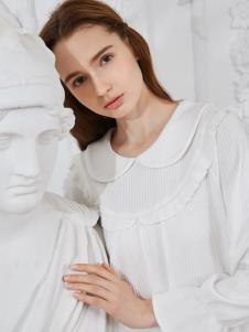 素芮秋冬家居服新款娃娃领