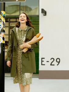 ZOLLE因为秋冬新款女装风衣
