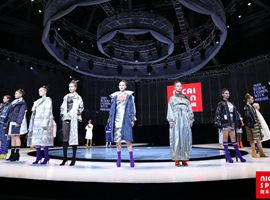 6場柯橋本地品牌秀活力呈現2019柯橋時尚周(秋季),炫動柯橋時尚風