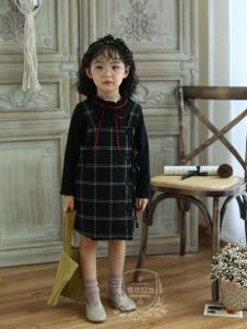 维尼叮当连衣裙