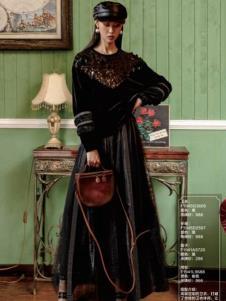 电影时装连衣裙