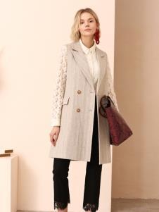 百图冬季女装新款风衣