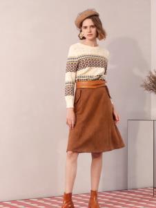 百图冬季女装新款裙子