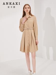 安卡茜秋冬新款女裝連衣裙