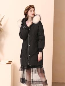 百图冬季女装新款羽绒服