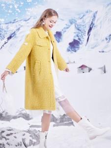 春美多黄色大衣