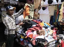 二手衣服卖到非洲,赚翻了