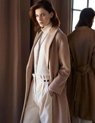這個秋天入手一件Peserico大衣 讓我們向陽而行溫暖秋冬