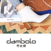 丹比奴NEW IN 今年流行的系带靴时髦炸了,谁穿谁被夸!