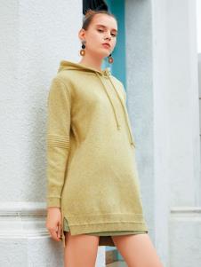 衣艾2019冬女装新款卫衣