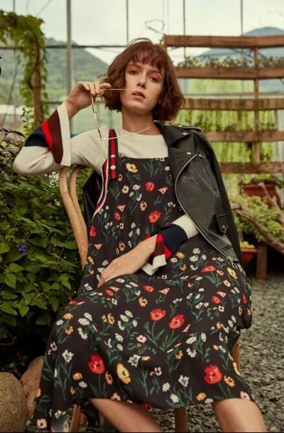 蒂言杭州一线品牌女装直播货源专柜正品折扣女装走份