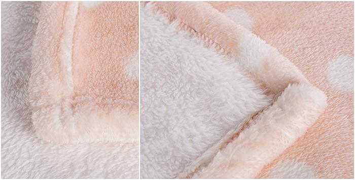 怎样防止床品掉色?毛毯厂家馨格家纺教您4招