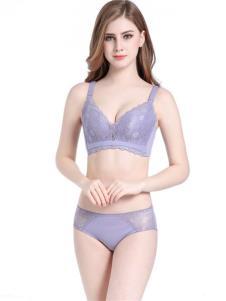 杜妮芬内衣新品紫色时尚文胸