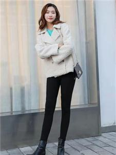 古米娜2019冬季新款短大衣