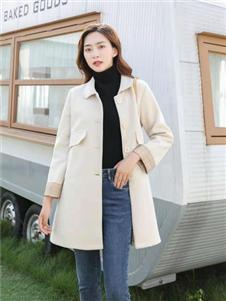 古米娜2019冬季新款外套