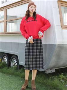 古米娜2019冬季卫衣