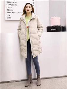 古米娜2019冬季羽绒服