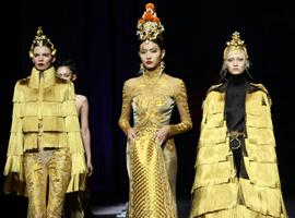 盖娅传说·熊英2019年度收官大秀亮相中国国际时装周