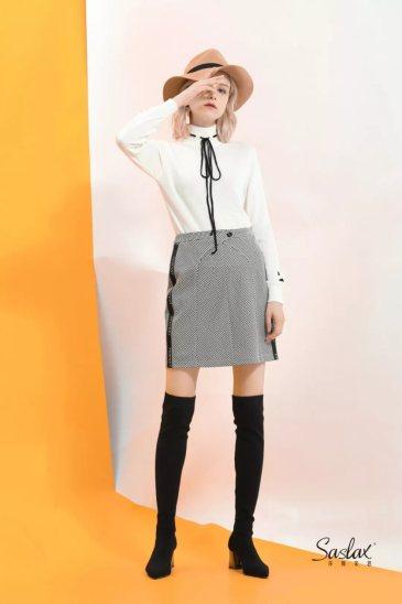 莎斯莱思时尚女装,自带温柔气质的高级感,今冬是一定要穿的!