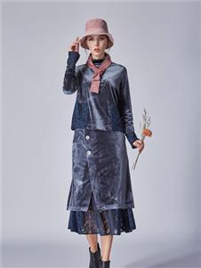 墨曲2019冬季新款半身裙