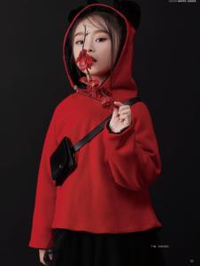 JOJO童装2019冬新款卫衣