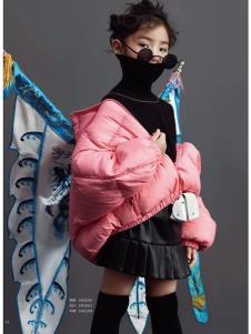JOJO童装2019冬新款羽绒服