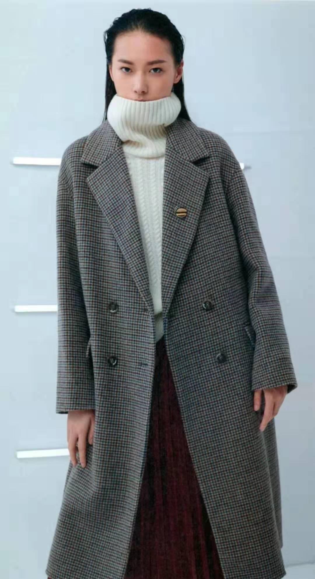 18年新款冬装《佧茜文》品牌折扣女装货源批发