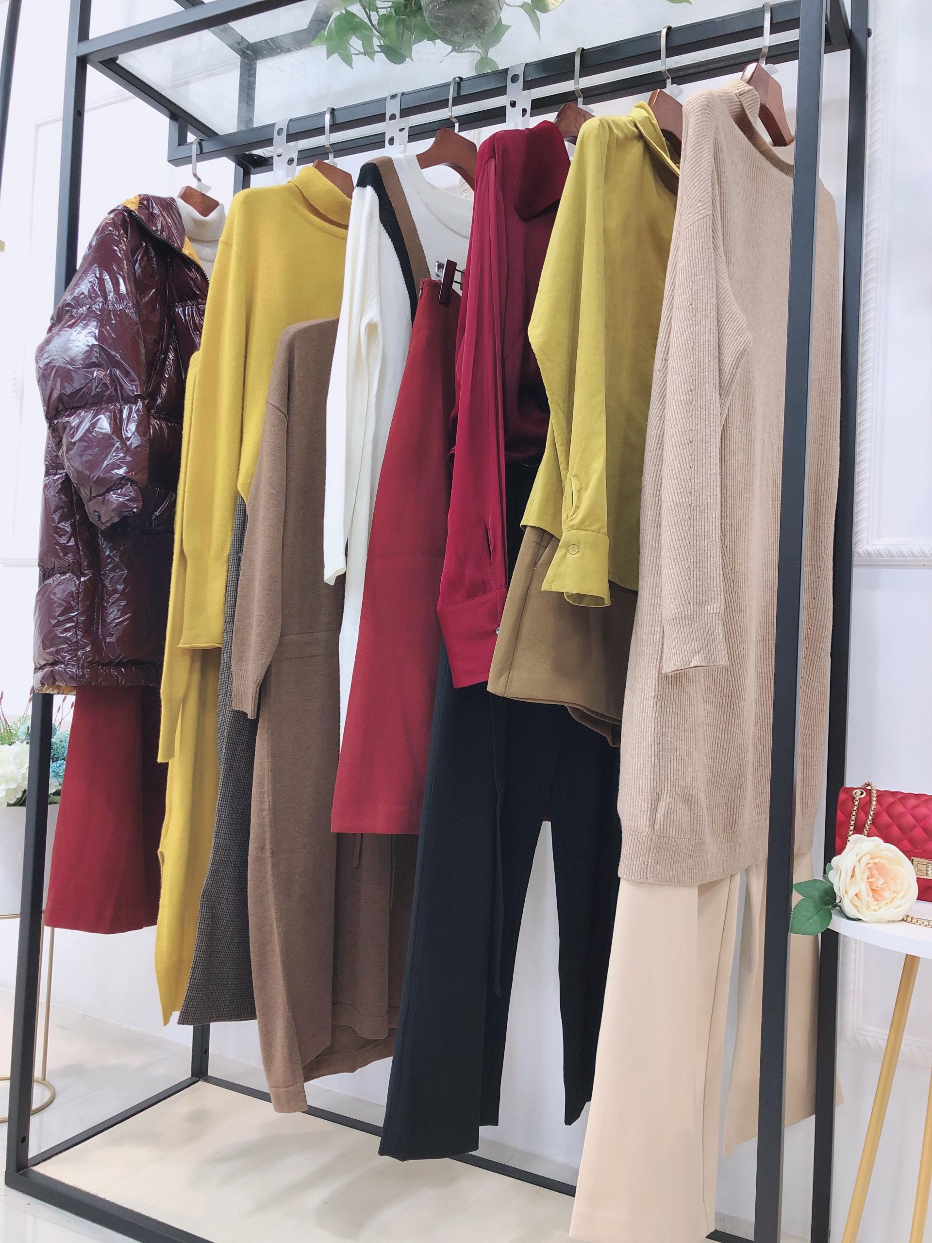 杭州品牌碧可冬装品牌折扣尾货批发