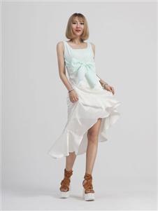MINIMALEDGE无袖连衣裙