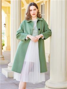 金蝶茜妮新款时尚呢大衣
