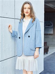金蝶茜妮新款氣質大衣