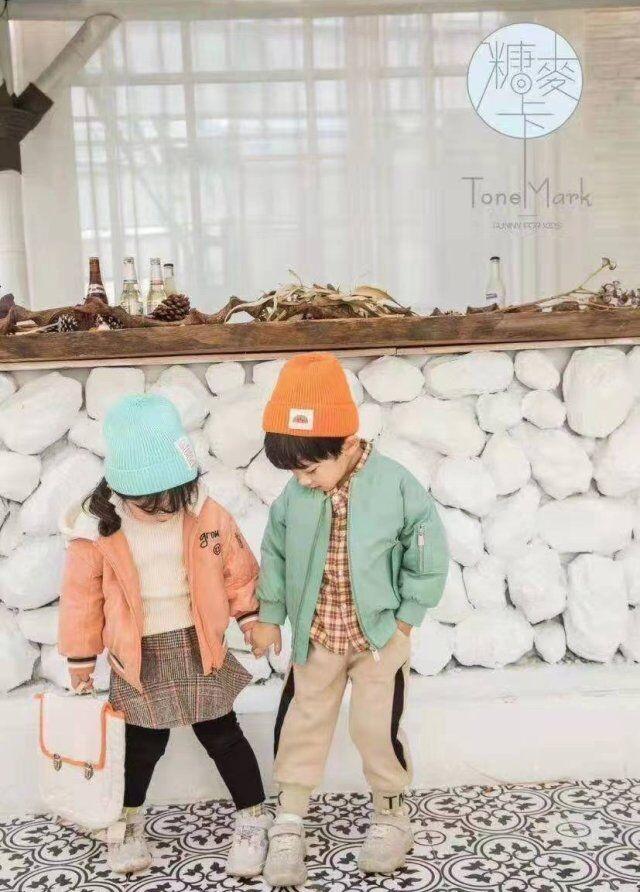 品牌折扣童装尾货批发 【糖麦卡】深秋冬儿童外套专柜正品童装清仓