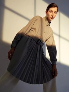 玛丝菲尔女装2019玛丝菲尔新款冬季女装裙子