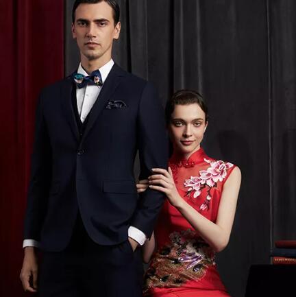 希努尔SINOER丨献礼新婚季,诠释优雅绅士风度
