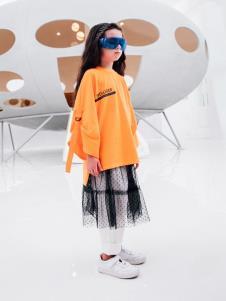 巴迪小虎童装2019新款纱裙