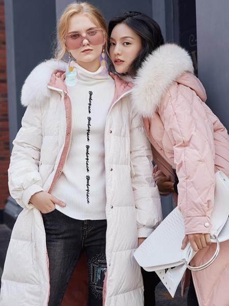 布根香2019冬季新款女装