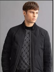 沙驰冬季新款男装外套加绒