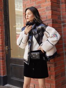 布根香2019新款冬季女装外套