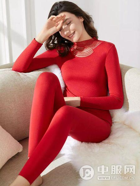 曼妮芬红色内衣