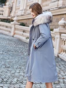 雨珊女裝新款寬松羽絨服