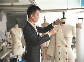 陈发:从缝制车工到服装设计师 一针一线编织服装梦
