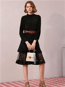 betu百圖黑色連衣裙