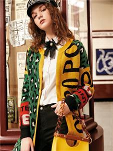 魅之女新款针织外套