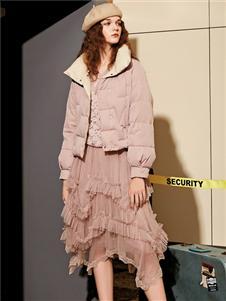 魅之女新款时尚羽绒服