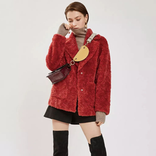 DESIGNICE迪赛尼斯 羊毛颗粒绒,暖心派质感主义