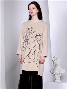 FANKAI梵凯时尚长款卫衣