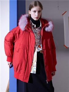FANKAI梵凱新款紅色羽絨服