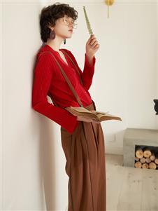 FANKAI梵凱時尚氣質背帶褲