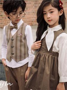 两个小朋友童装两个小朋友2019新款连衣裙